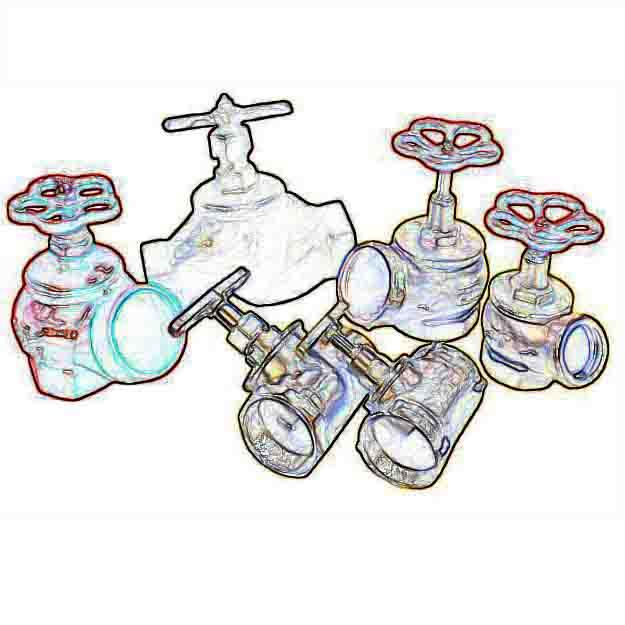 Трубная арматура (краны, вентили, клапана, затворы, задвижки)