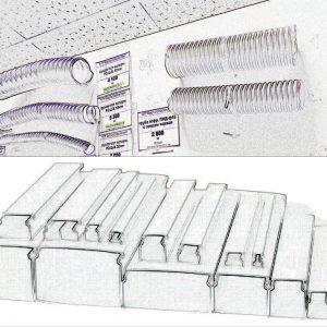 Кабель-канал, трубы, металлорукав
